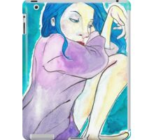 Cozy Blue iPad Case/Skin