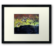 Two Roos Framed Print