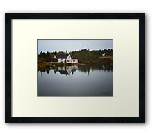 Grand River Cape Breton Nova Scotia Canada Framed Print