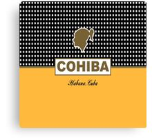 Cohiba Cuban Havana Cigar Canvas Print