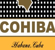 Cohiba Cuban Havana Cigar Sticker
