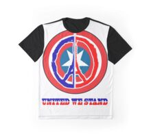 Paris United we stand Graphic T-Shirt