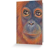 Orangutan  Greeting Card
