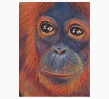 Orangutan  One Piece - Short Sleeve