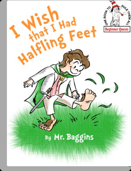 Halfling Feet by AtomicRocket