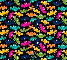 Bewildered Bats by RosieParkinson