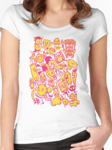 charactertastic Women's Fitted Scoop T-Shirt