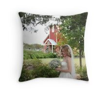 Going to the Chapel of Love Throw Pillow