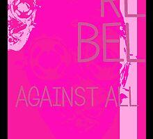 R.A.A. Neon Pink (Exclusive REDBUBBLE Color) by TJKernan