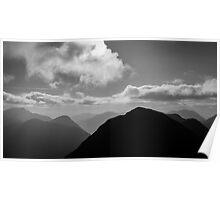 Mountain Peaks  Poster