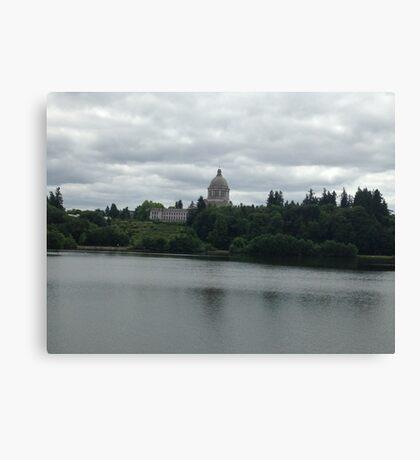Olympia Capital Canvas Print