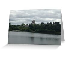 Olympia Capital Greeting Card