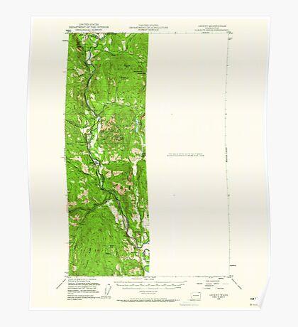 USGS Topo Map Washington State WA Orient 242987 1948 62500 Poster