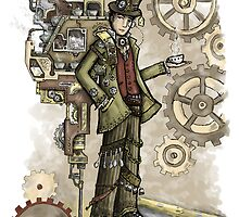 Steampunk Mad Hatter by nicecuppatea
