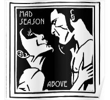 HOT MAD SEASON ROCK BAND Poster