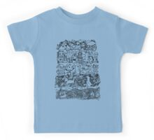 Many Layers of Doodle Kids Tee