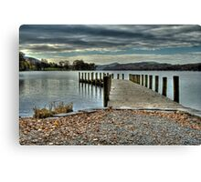 Coniston Water HDR Canvas Print