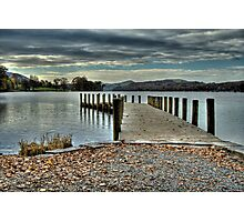 Coniston Water HDR Photographic Print