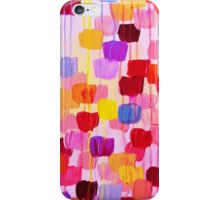 DOTTY in Pink - October Special Revisited Bold Colorful Polka Dots Original Abstract Painting iPhone Case/Skin