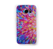 SPLASH, Revisited - Bold Beautiful Feminine Romance Ocean Beach Waves Abstract Acrylic Magenta Crimson Samsung Galaxy Case/Skin