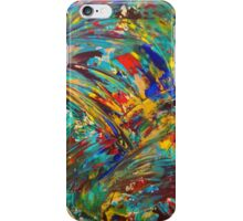 FIREWORKS IN COLOR - Bold Abstract Acrylic Painting Lovely Masculine Colorful Splash Pattern Gift iPhone Case/Skin