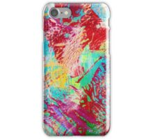 REEF STORM - Fun Bright BOLD Playful Rainbow Underwater Ocean Coral Reef Aquatic Life iPhone Case/Skin