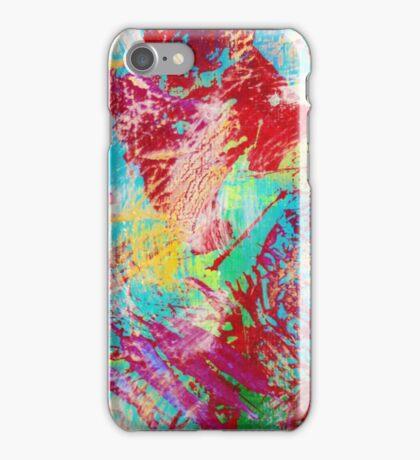 REEF STORM - Fun Bright BOLD Playful Rainbow Underwater Ocean Coral Reef Aquatic Life iPhone Case/Skin