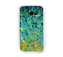 BEAUTY BENEATH THE SURFACE - Stunning Lake Ocean River Water Nature Green Blue Teal Yellow Aqua Abstract Samsung Galaxy Case/Skin