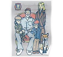 Anderson Family Portrait Poster