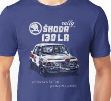 Rally Group B-Škoda 130 LR Unisex T-Shirt