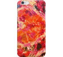 MEND ME - Broken Heart Abstract Artwork Bright Bold Crimson Magenta Black Leopard Print iPhone Case/Skin