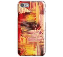 RHAPSODY IN MAGENTA- Beautiful BOLD Modern Abstract Wild Acrylic Painting Crimson Hot Pink Purple iPhone Case/Skin