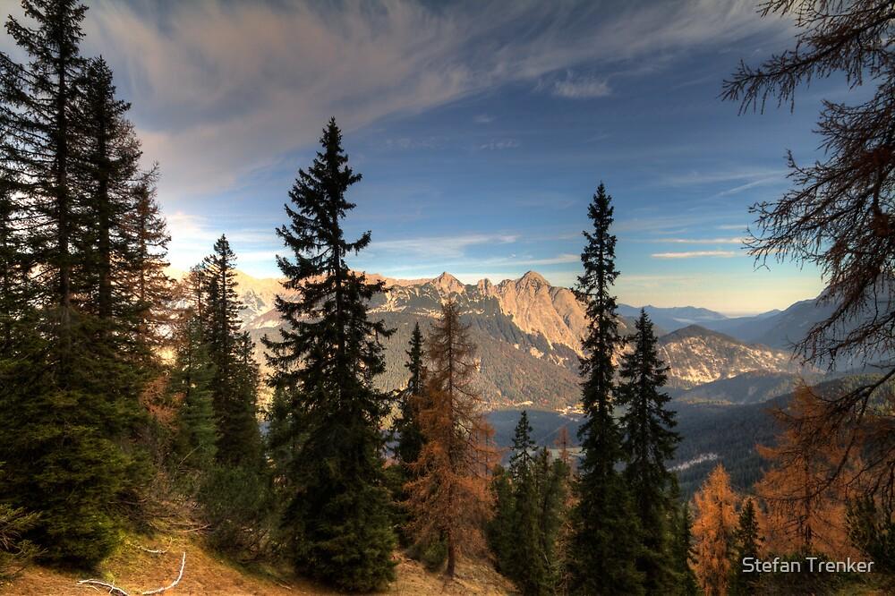 An Autumn Walk by Stefan Trenker