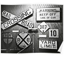 Railroad Talk Poster