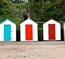 English Beach Huts by badgercards