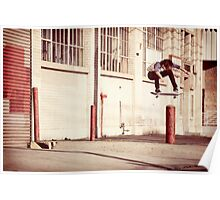 Austyn Gillette - Backside Flip - Los Angeles - Photo Aaron Smith Poster