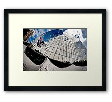 John Fitzgerald - Ollie - Los Angeles - Photo Aaron Smith Framed Print