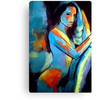 """Sexy girl"" Canvas Print"