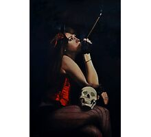 Pensees Macabre (macabre thoughts) Photographic Print