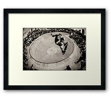 Christian Hosoi - Air - New York - Photo Aaron Smith Framed Print