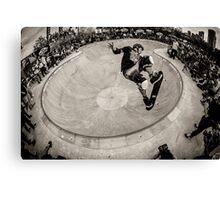 Christian Hosoi - Air - New York - Photo Aaron Smith Canvas Print