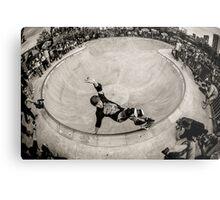 Christian Hosoi - Layback Smith Grind - New York - Photo Aaron Smith Metal Print