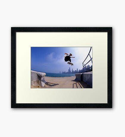 Patrick Melcher-Chicago photo by Andrew Hutchison Framed Print