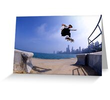 Patrick Melcher-Chicago photo by Andrew Hutchison Greeting Card