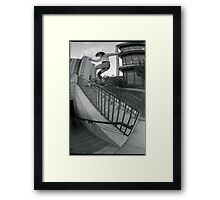 Steve Fauser-Chicago Photo Andrew Hutchison Framed Print