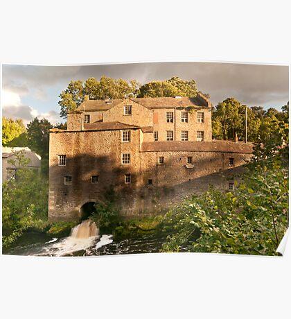 Aysgarth Mill Poster