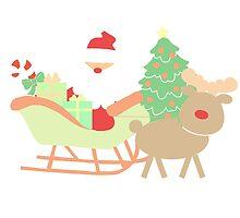 Santa #1 by simplepaperplan