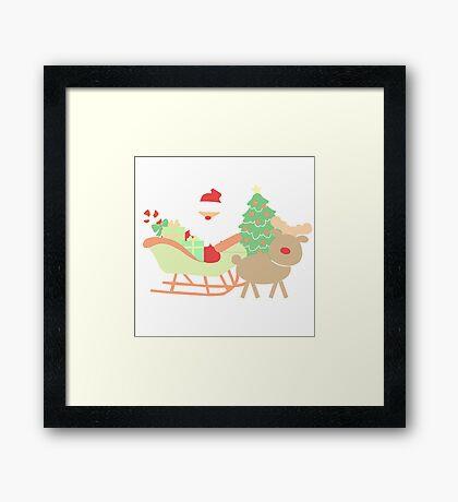 Santa #1 Framed Print