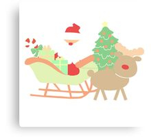 Santa #1 Canvas Print