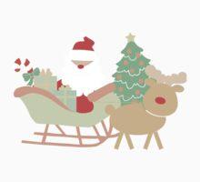 Santa #1 One Piece - Long Sleeve